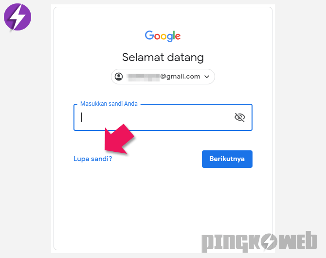 Berhasil Cara Mengatasi Lupa Kata Sandi Gmail Mereset Password Pingkoweb Com