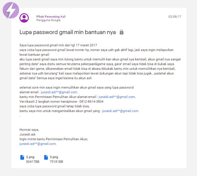 Lihat Cara Mengembalikan Akun Gmail Lupa Sandi paling mudah