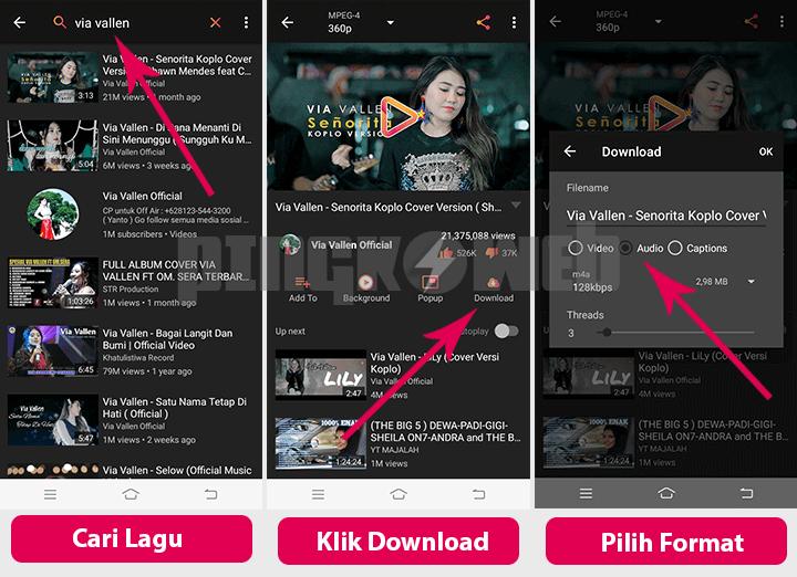 8 Aplikasi Untuk Download Lagu MP3 Gratis dari Smartphone! - Pingkoweb.com