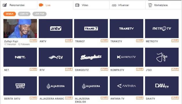 6 Situs Nonton TV Online Siaran Lokal & Luar Negeri
