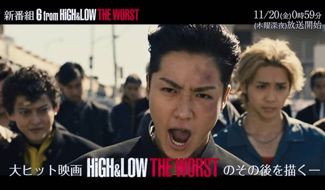 Nonton 6 From High & Low The Worst (2020) Sub Indo, Ep 1-6 ...